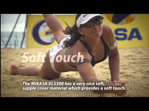 Video: Mikasa Beach Champ VLS300 DVV Beach Volleyball