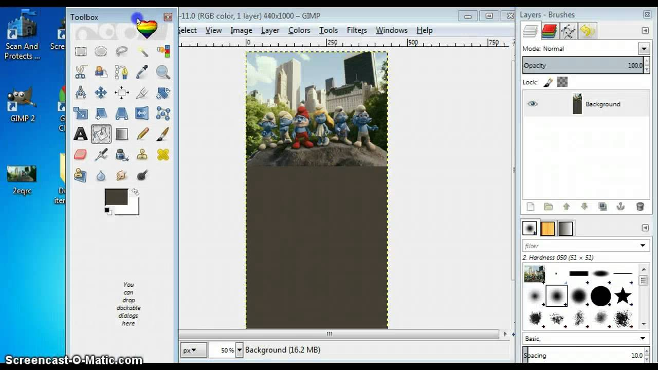 Gimp 2.0 Testing: Add Gif To Photo In Gimp 2.0 - Youtube