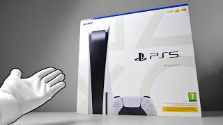 The PS5 Unboxing - Sony PlayStation 5 Next Gen Console