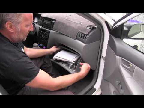 2008 Toyota Corolla Cabin Air Filter Inspection Youtube