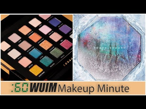 LORAC Holiday Palette Revealed! Fenty Goes Fire and ICE! - Makeup Minute - 동영상
