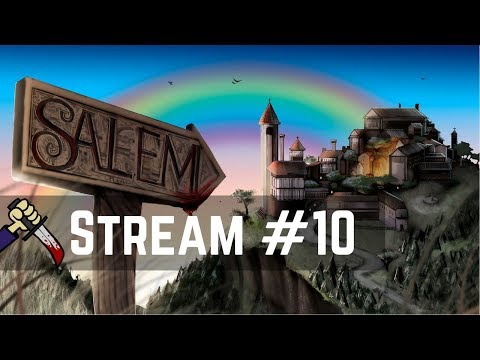 ToS for Mirai! Discord Fun! | Live Streamed 【Town of Salem】
