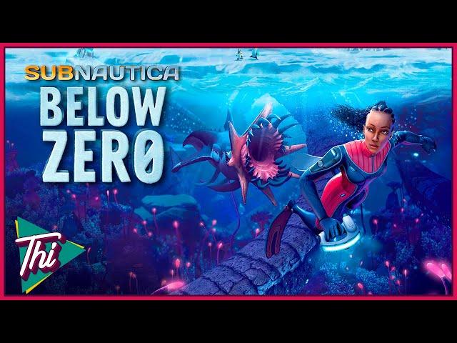 Sobrevivência Abaixo de Zero (LANÇAMENTO 1.0) - SUBNAUTICA BELOW ZERO #01 (Português PT BR)