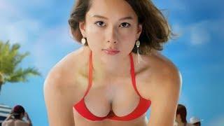 【日本CM】世界百大美女Niki丹羽仁希穿上紅色比堅尼發放強大性感魅力