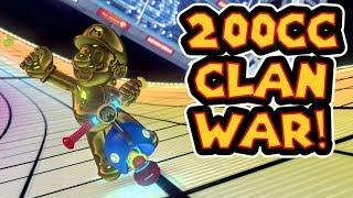 Mario Kart 8 Deluxe 200cc MKU Clan War - BzK Vs. TS
