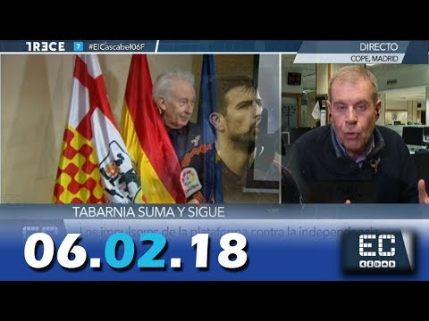 El Cascabel 13tv 06.02.2018 Tabarnia Suma y Sigue...