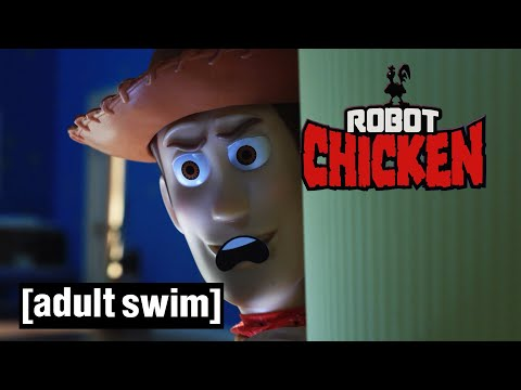 Robot Chicken   The End Of Toy Story?   Adult Swim UK 🇬🇧