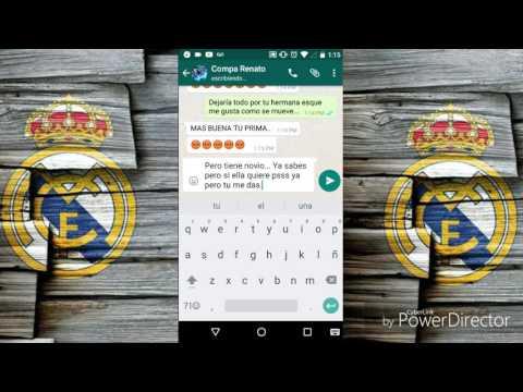 BROMA A UN AMIGÓ (ME ACUESTO CON TU HERMANA) Por Whatsapp HD