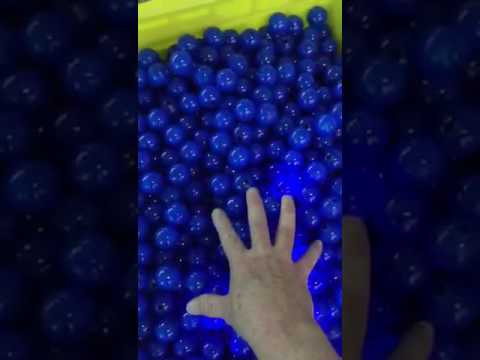 a26fbe66a60a Hundreds of Glowing Thumb Chucks - YouTube