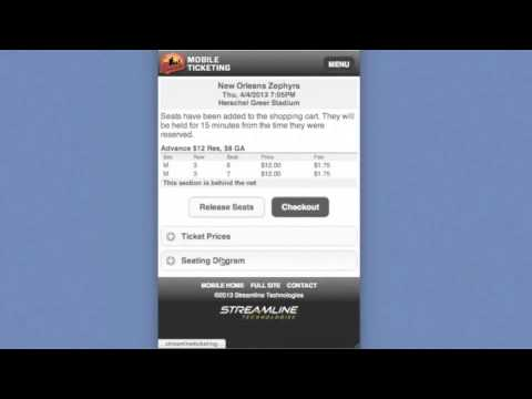 Streamline Ticketing - Mobile Ticketing Tutorial