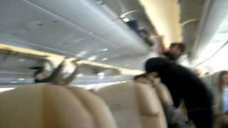 Boarding Etihad Airways A340-500 Abu Dhabi - Sydney