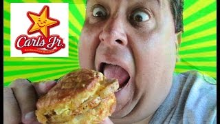 Carl's Jr.® Grilled Pork Chop Biscuit Review!