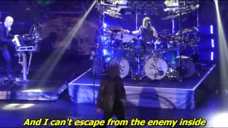 Dream Theater - The enemy inside ( Live ) - with lyrics