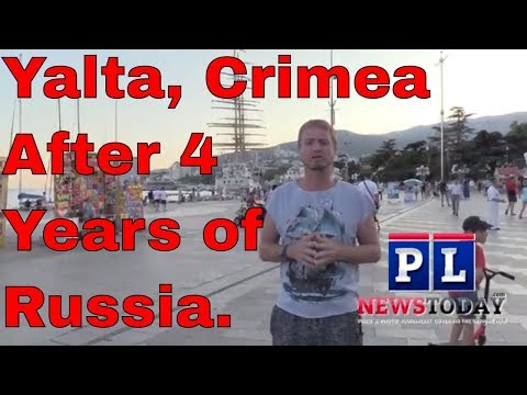 Yalta, Crimea After 4 Years Of Russia:  (ENG SUBS)