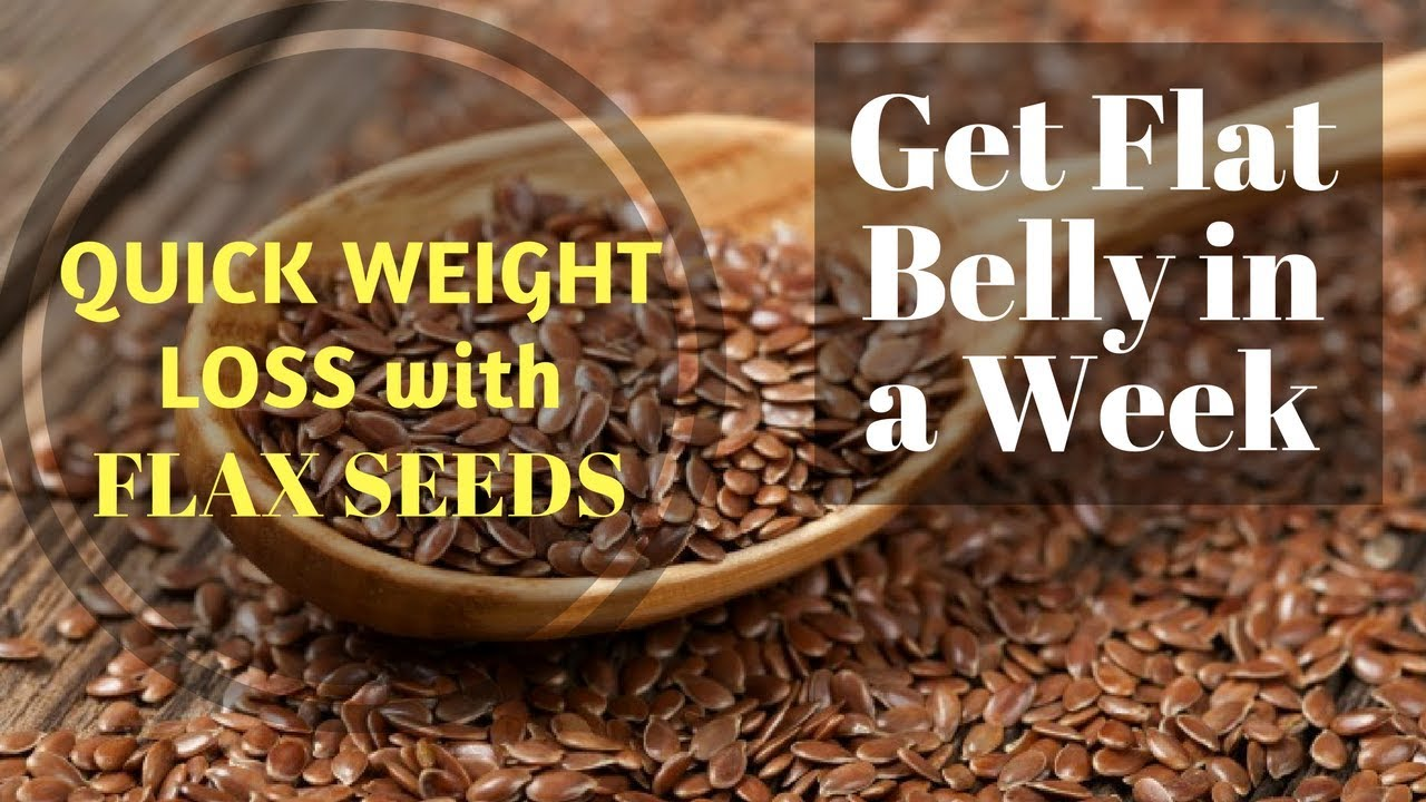 Flax Seeds for Quick Weight Loss & PCOS | How To Lose Weight Fast With Flax  Seeds in Winter