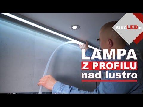 Profil Aluminiowy Iledo Robimy Z Niego Lampę Nad Lustro 33 Poradnik Od Kingledpl
