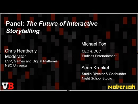 NBCUniversal's Chris Heatherly — The future of interactive storytelling