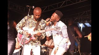 Prince Nico Mbarga's children performs  sweet mother
