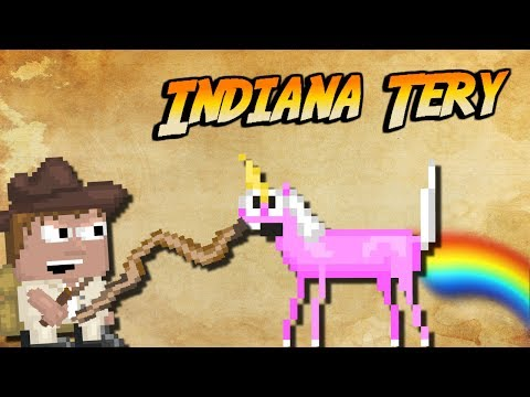 Growtopia - Adventures of Indiana Tery | TORTURING UNICORNS!!