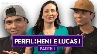 hen1 e lucas1 falam sobre montreal e major exclusiva