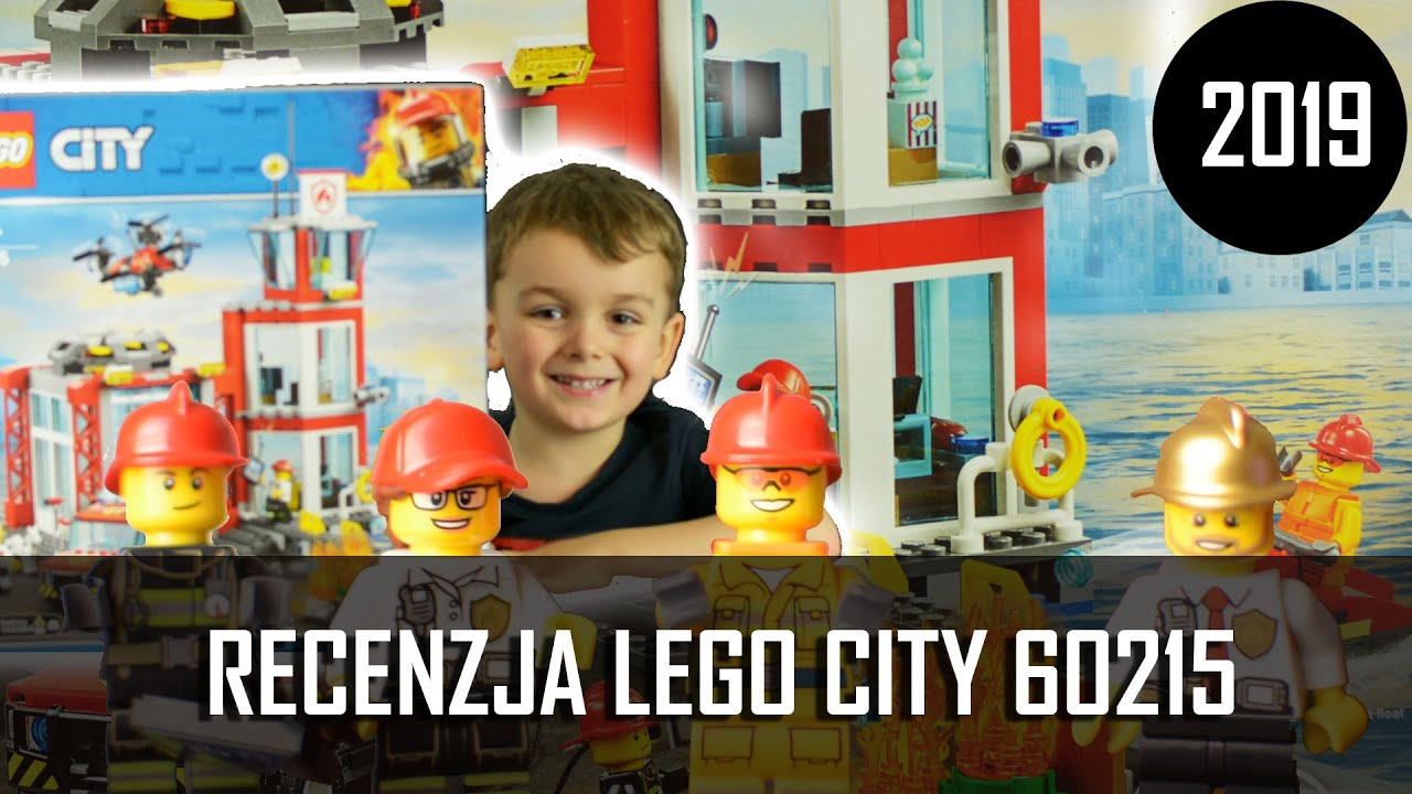 Klocki Lego City 60215 Remiza Strażacka 2019 Recenzja U