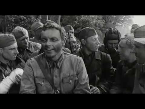Фрагмент фильма Живые и мертвые