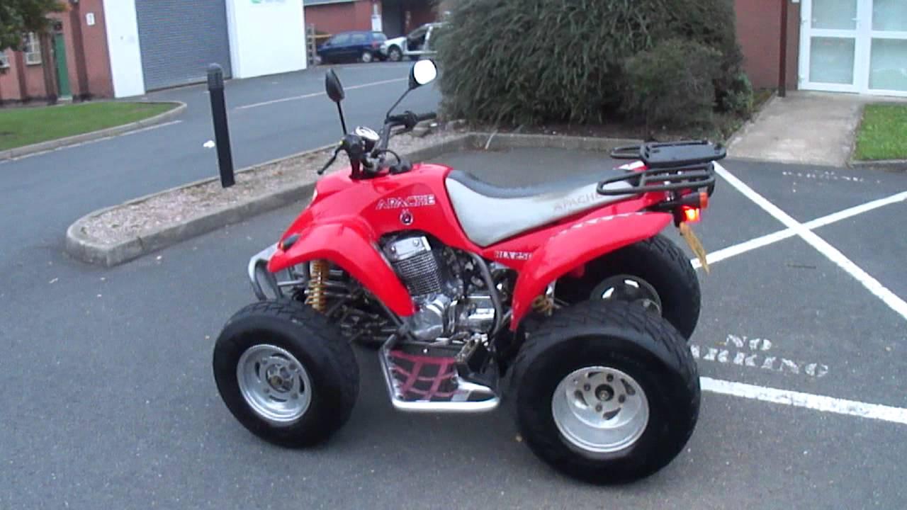 2005 Barossa Apache Rlx250 250 Road Quad Bike 70 Mph 9 M