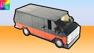 gMC VANDURA How to build Lego GMC VENDURA PART 2 Как собрать Лего самоделка Инструкция