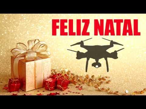 FELIZ NATAL da TURMA dos DRONES do YOUTUBE Brasil