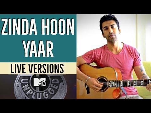 Zinda Hoon Yaar | MTV Unplugged | Amit Trivedi | Guitar Cover + Lesson
