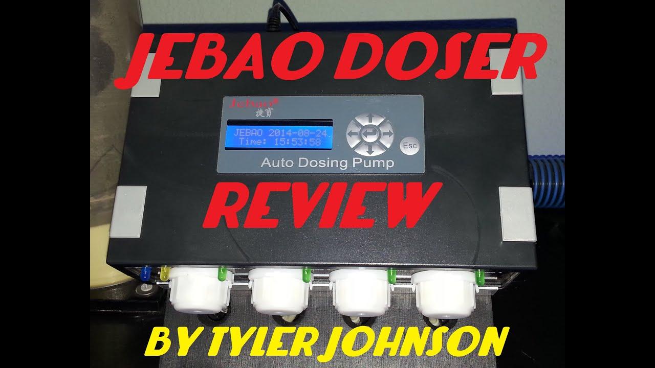 Jebao's DP-4 Dosing Pump Review!!! (Cheapest Doser)
