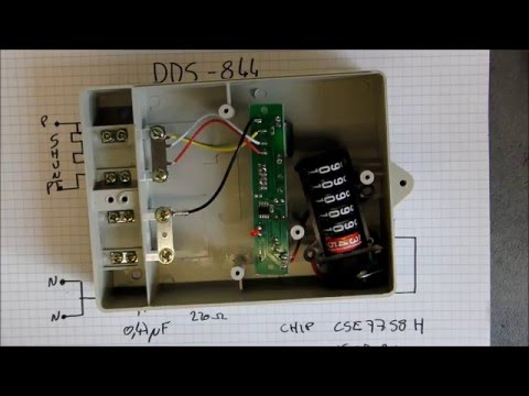 El dirt cheapo chinese electricity meter review and teardown
