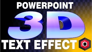 How to make 3D texts on PowerPoint? // HowTo-Slide?