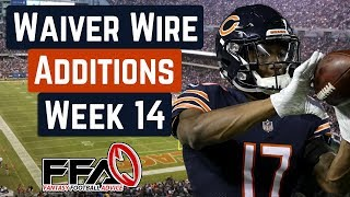 Top Waiver Wire Targets - Week 14 - 2019 Fantasy Football Advice