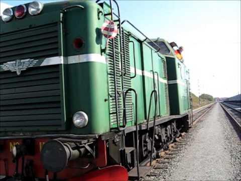 """Old Diesel Train """" Maschinenbau Kiel """" T23. 802hkr a small ride with it. I was a kid again! Happy!"""