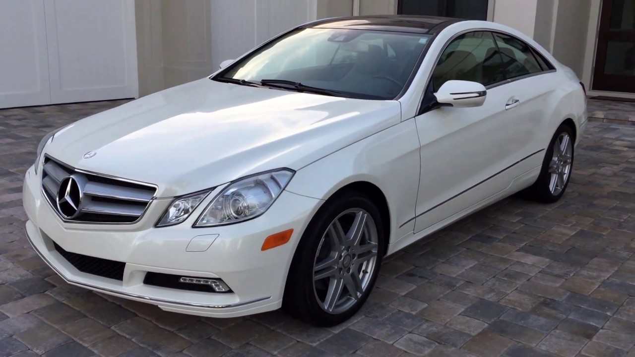 2010 mercedes benz e350 coupe amg sport for sale by auto europa naples youtube. Black Bedroom Furniture Sets. Home Design Ideas