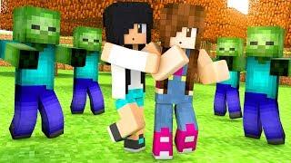 Minecraft - CERCADAS POR ZUMBIS (Monster Maze)