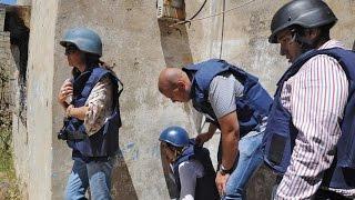 أخبار عالمية - الاتحاد الأوروبي يطلق حملة لإنهاء العنف ضد الصحفيين