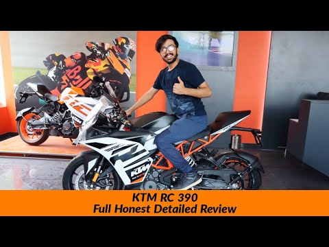 2020 KTM RC 390 Full Review