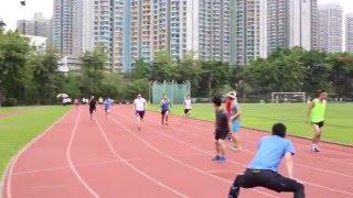 宣道中學 金禧校慶校友盃4x100接力賽