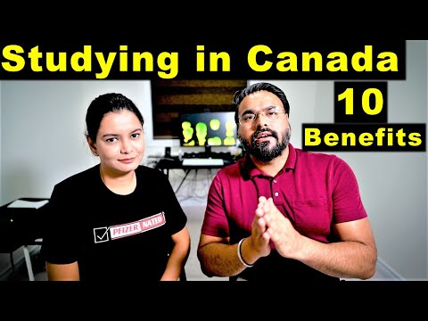 Top 10 Benefits Of Studying In Canada   Easy PR   Canada Couple
