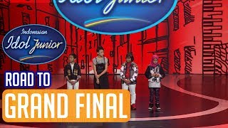 RESULT - ROAD TO GRAND FINAL - Indonesian Idol Junior 2018