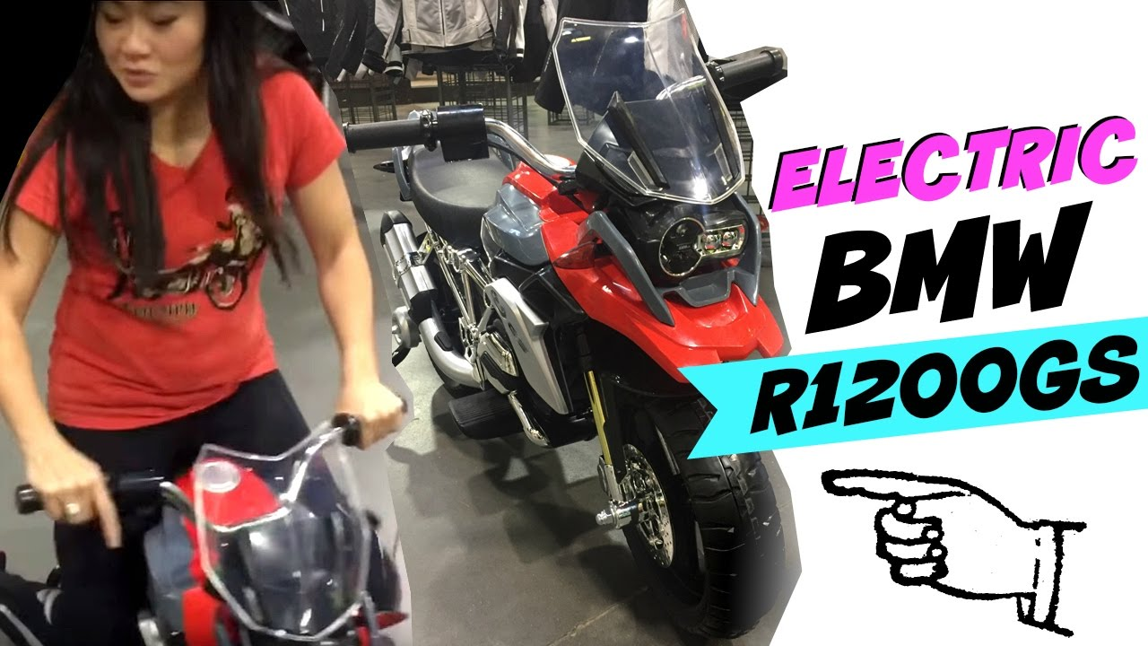 bmw r1200gs low and electric! :) - youtube
