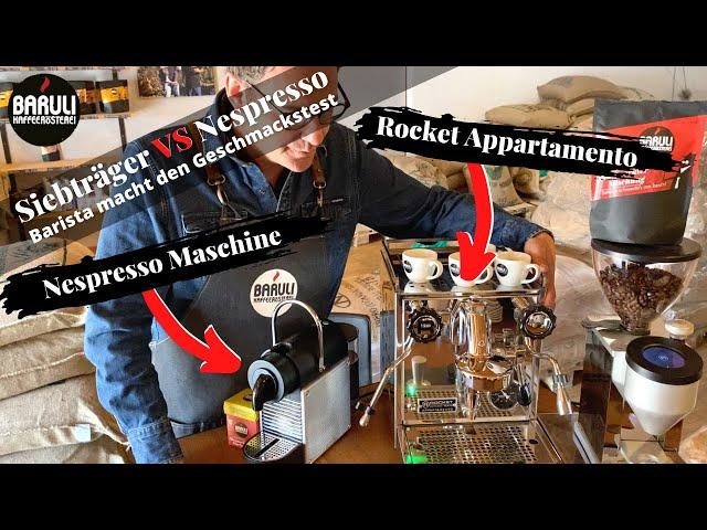 Rocket Appartamento VS Nespresso Kapselmaschine 😨 ♨️
