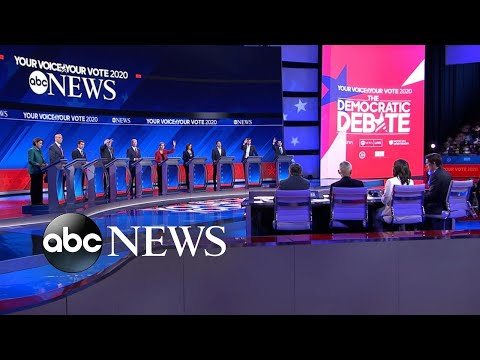 Democratic Candidates Debate: Climate Change | ABC News