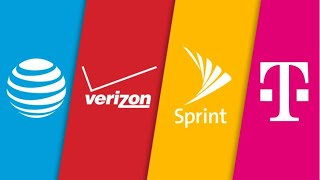 T-MOBILE, SPRINT, VERIZON, AT&T WIRELESS | T-MOBILE AND SPRINT ARE BEHIND WOW !!