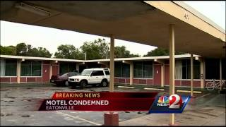 Dozens ordered out of condemned motel by 4 p.m.