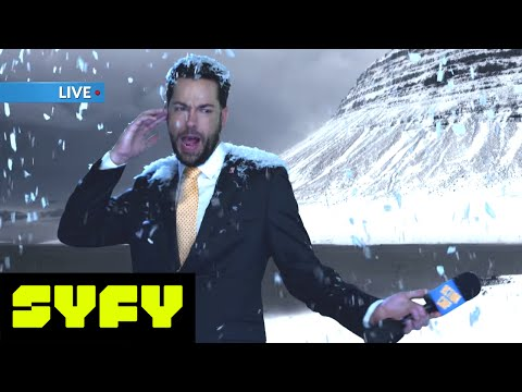 SYFY LIVE FROM COMIC-CON | Action Chip News Fail Compilation | SYFY