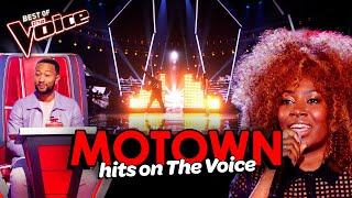 The best MOTOWN HITS on The Voice | Mega Compilation