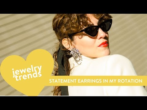 JEWELRY TRENDS 2019 // Summer Statement Earrings I Have on My Rotation!